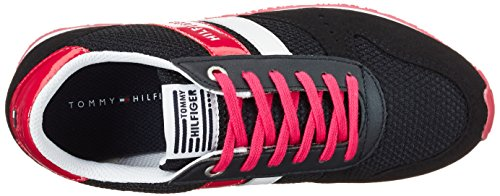 Tommy Hilfiger J3285aimie 14c2, Sneakers Basses Fille Bleu (Midnight)