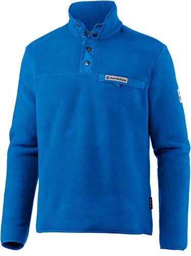 Jack Wolfskin Herren Fleecepullover blau XL