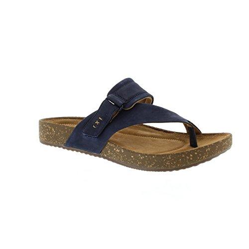 Clarks ROSILLA DURHAM Größe 38 Blau (NAVY NUBUCK) (Clarks Damen Schuhe Clogs)