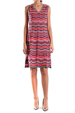 Missoni Damen Kd0kd12k233947 Multicolour Baumwolle Kleid (Missoni Multi Color)