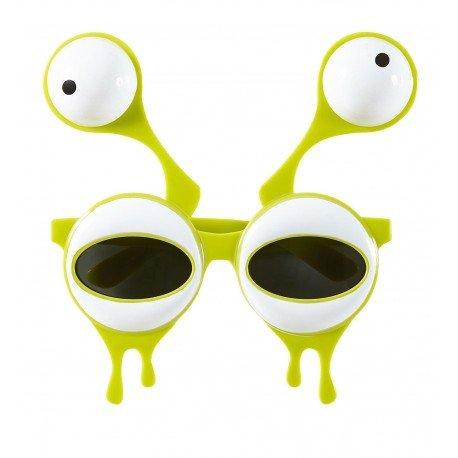 Gesicht Ideen Kostüme Zwei (Widmann wid14402–Brille Alien mit zwei Augen, gelb,)
