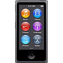 "Apple iPod Nano 7G - Reproductor de MP3 (16 GB, pantalla táctil de 2,5"", Bluetooth) gris"