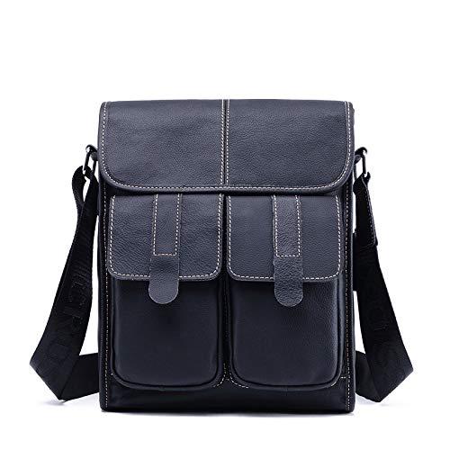 WSEB Herren Umhängetasche SatchelMessenger Bags für Herren Portfolio, blau (Polyester-messenger-portfolio)