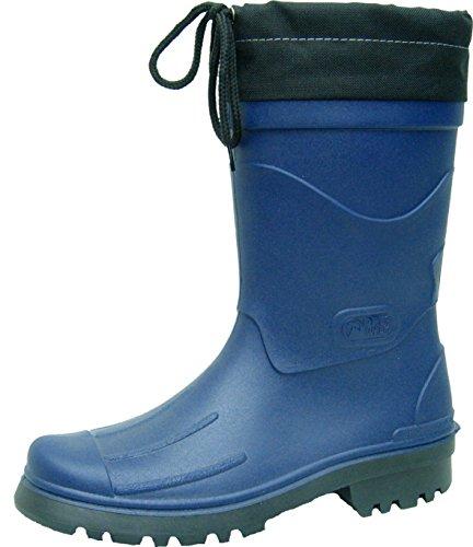 BOCKSTIEGEL® NILS Hommes - Bottes en caoutchouc de haute qualité (Tailles: 40-48) dk-blue