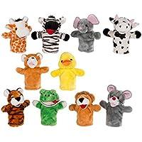 10Felicitaciones–Títere Kasper muñecas Animales Peluche Marionetas kasperle Peluche muñecas muñecas aprox. 25cm mano parte muñecas - Peluches y Puzzles precios baratos