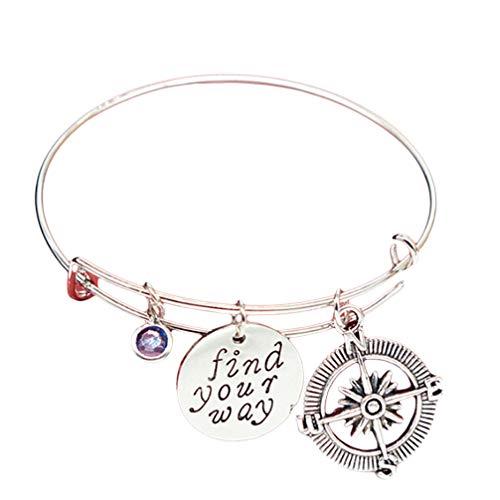 Toporchid You sind Meine Person Halskette Armband Set Charms für Liebhaber Paare Freunde (Stil 3)