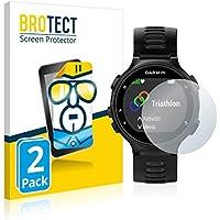 BROTECT Schutzfolie für Garmin Forerunner 735XT [2er Pack] - klarer Displayschutz