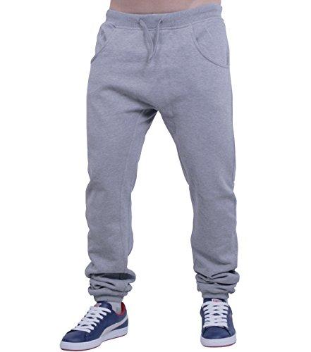 betters tylz, Harems de jogging pantalon de Sport pour Homme Femme Tailles (XS-XL) Gris - Gris