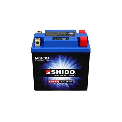 Preisvergleich Produktbild JMT LITHIUM-IONEN Motorrad Batterie 12 Volt YB16AL-A2,  YT12B-BS,  YT14B-BS / LiFePO4 / HJT12B-FP passend für Yamaha BT 1100 Bulldog,  5JN1,  RP051,  Bj. 2002 [Preis ist inkl. Batteriepfand]