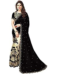 Vardani garment Saree For Women Party Wear Half Sarees Offer Designer Below 500 Rupees Latest Design Under 300 Combo Art Silk New Collection 2018 In Latest With Designer Blouse Beautiful For Women Party Wear Sadi Offer Sarees Collection Kanchipuram Bollywood Bhagalpuri Embroidered Free Size Georgette Sari Mirror Work Marriage Wear Replica Sarees Wedding Casual Design With Blouse Material