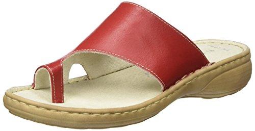 Marco Tozzi Premio Damen 27900 Offene Sandalen mit Keilabsatz, Rot (Chili 533), 40 EU