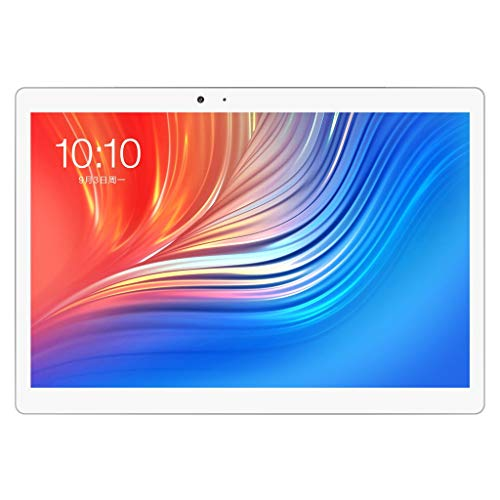 Cyber Monday offerte, Teclast T20 4G LTE Tablet PC Network Fingerprint Locking MT6797 X27 Deca Core 64G Rom 4G RAM Dual WiFi 13.0MP 10.1 inch GPS Argento