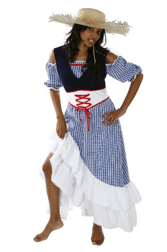Bäuerin Kostüm für Damen Gr. L Farmerin Landwirtin -