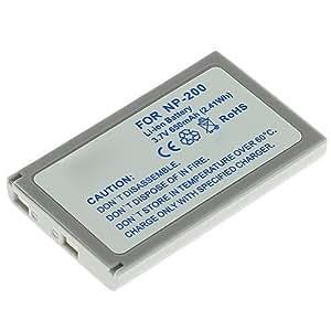 CELLONIC® Batterie premium pour Konica Minolta DiMAGE Xg Xt Xt BIZ X Xi (650mAh) NP-200 Batterie de recharge, Accu remplacement