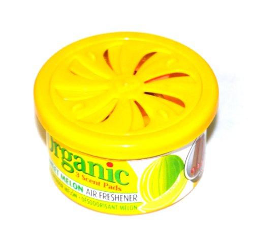 Preisvergleich Produktbild Organic Scents Cans for Cars Duftdose Sweet Melon - Honigmelone Lufterfrischer Autoduft 38g