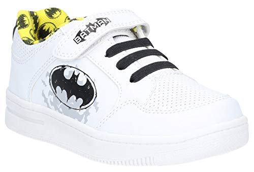 Leomil Boys Batman Low Lightweight Casual Plimsoll Shoes