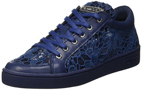 Guess Lace Active, baskets bases femme Bleu (Blue)
