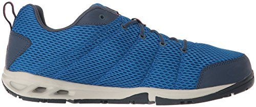 Columbia Mens Vent Fly Fashion Sneaker Super Blue, Shark