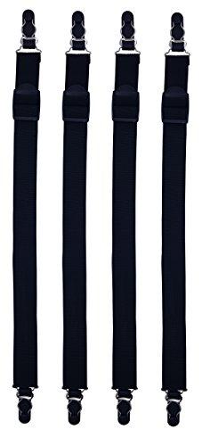 Shirt Stays Tirantes camisa derechos - 2 pares 4 piezas