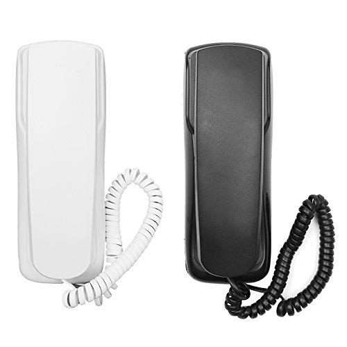 Global Brands Online 48 V Telefon, kabelgebunden, analog, Büro, Flash-Montage, für Büro, Empfang -