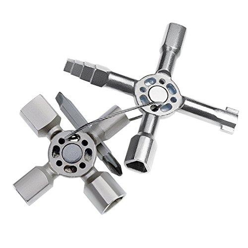 Knipex 00 11 01 TwinKey – für Schaltschränke, Fenster und Absperrsysteme - 2