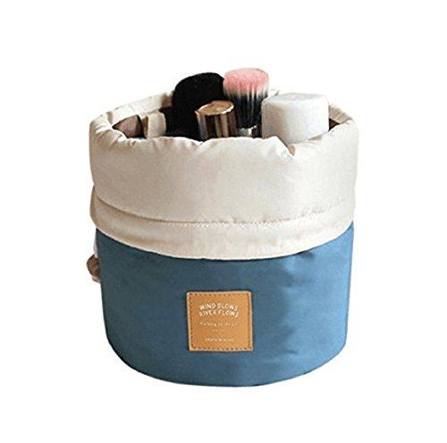Aulei Runden Kulturbeutel Kordelzug Waschbeutel Make up kosmetische Reisetaschen Wash Bag Test