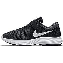 Nike Jungen Revolution 4 (PSV) Laufschuhe, Schwarz (Black/White-Anthracite 006), 33 EU