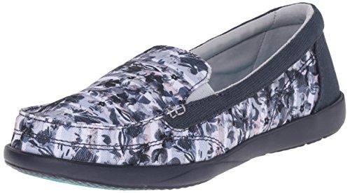 Crocs Walu Ii Leopard-Druck-Loafer Multi/Navy