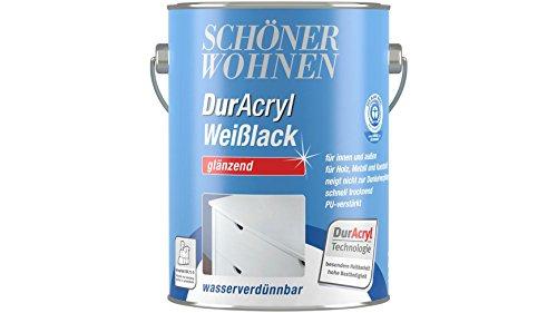 Schöner  <strong>Farbverhalten</strong>   Schnelltrocknend, Hoher Weißgrad