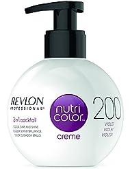 REVLON PROFESSIONAL Nutri Color Crème Soin Couleur Repigmentant 200 Violet, 270ml