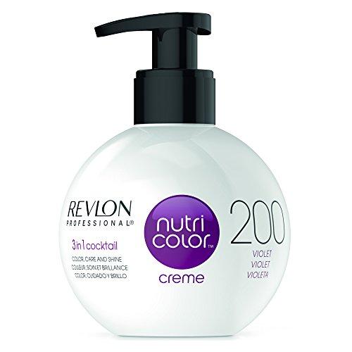 REVLON PROFESSIONAL Nutri Color Crème, Nr. 200, Violet, 1er Pack (1 x 270 ml) - Revlon Creme
