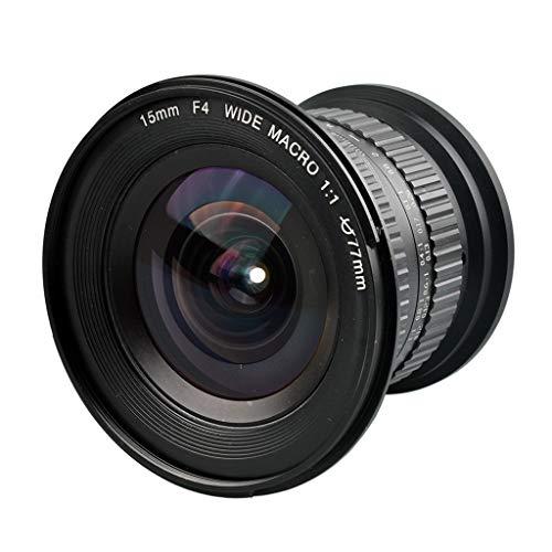 Wokee Professionelles 15 mm F / 4 F4.0-F32 Makro Objektiv 1:1 Makroobjektiv für Nikon Spiegelreflexkameras