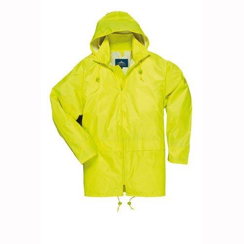 Preisvergleich Produktbild PORTWEST S440YERXXL - Klassische Regenjacke,  gelb,  Größe: XXL