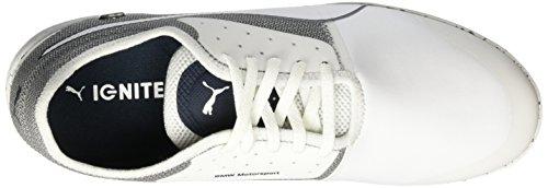 Puma BMW Changer Ignite, Baskets Basses Homme Blanc (White/White)