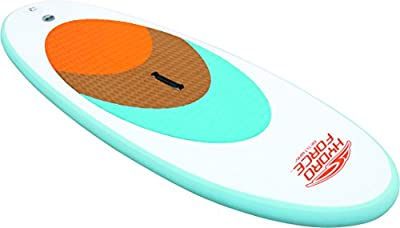 Bestway 8321642 - Tabla paddle para surf sin remo, color blanco, 204 x 76 x 10 cm