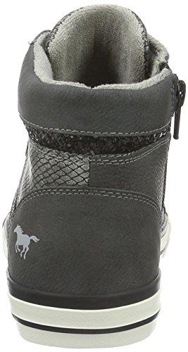 Mustang 1146-508-259, Sneaker a Collo Alto Donna Grigio (259 graphit)