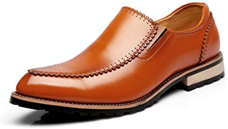 Zapatos De Cuero Casuales Pies Respirables Fringe Juventud Zapatos Bajos Puntiagudos -