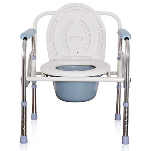 URINAL Beweglicher Toilettenstuhl-beweglicher Toiletten-Sitzkommode-Stuhl verwendbar für ältere Schwangere Frauen-ältere Behinderte