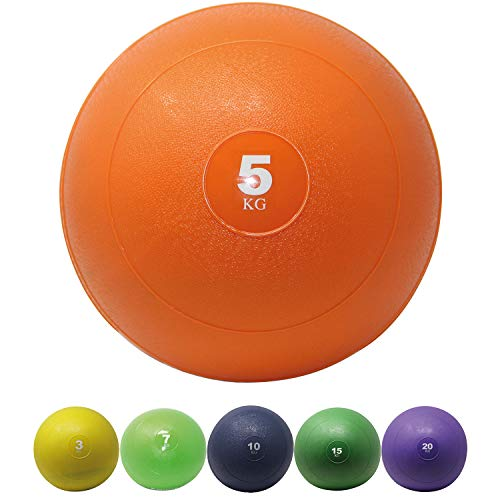 POWRX Slam Ball 3-20 kg - Ideal para Entrenamiento Funcional