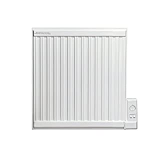 Adax APO Oil Filled Electric Radiator, Wall Mounted, With Thermostat. Heats up to 4.25m2 Room Space, 350W