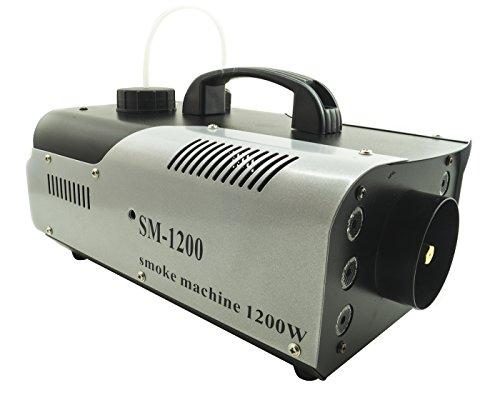 - Senza marca/Generico - MACCHINA FUMO 1200W 6LED RGB EFFETTO NEBBIA TELECOMANDO STAFFA DISCOTECA SM 1200
