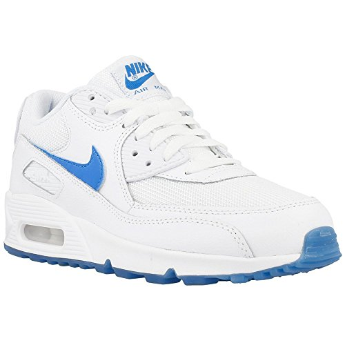 AIR MAX 90 GLOW (GS) Nike Boys' Mod. 685603 White/Photo Blue