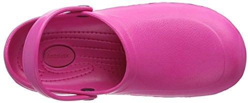 Toffeln Eziklog Unisex-Erwachsene Sicherheitsschuhe Pink (Hot Pink)