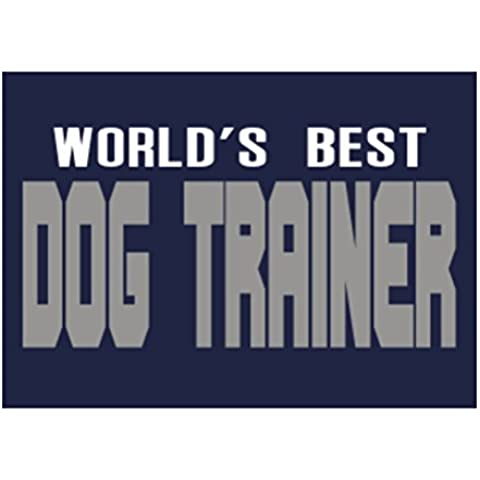 Teeburon WORLD'S BEST Dog Trainer Sticker Pacchetto di 4