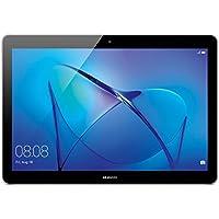 """Huawei Mediapad T3 Tablet 4G LTE, Display da 10"""", CPU MSM8917, Quad-Core A53, 1.4 GHz, 2 GB RAM, ROM 16 GB Espandibile Fino a 128 GB con MicroSD, Space Gray (Ricondizionato Certificato)"""