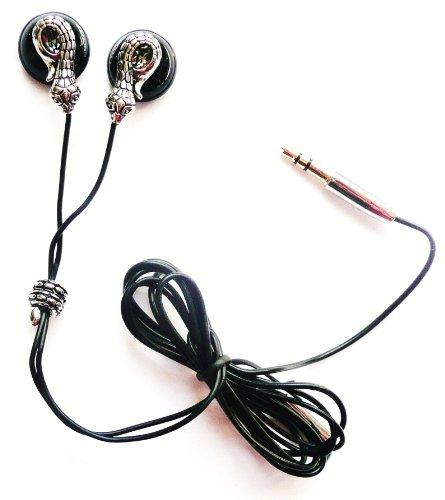 Preisvergleich Produktbild Scott Snakes Design In-Ear-Kopfhörer Kristall 3,5 Mm Klinke Retail Pack Passend Für Apple iPad Mini / Neue Apple iPad Mini 2013 (Retina Display)