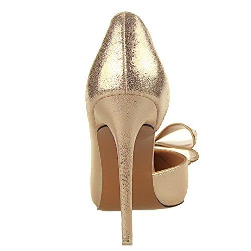 Guoar - Scarpe chiuse Donna (B-Gold)