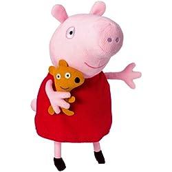 Peppa Pig 84255 - Peluche Peppa con voz