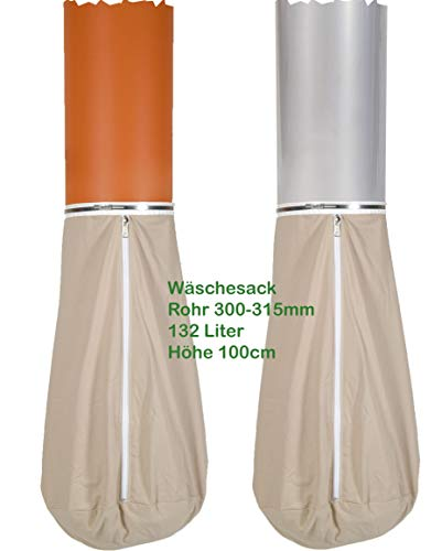 Wäschesack 132 Liter für Rohr 300-315mm od. Wäscheauffangsack für Wäscheschacht -