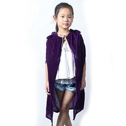 Faschingskostüme für Kinder/Erwachsene Hexe Umhang Umhang/Halloween-Kostüme/Zauberumhang-D (Ausgeburt Kostüm)